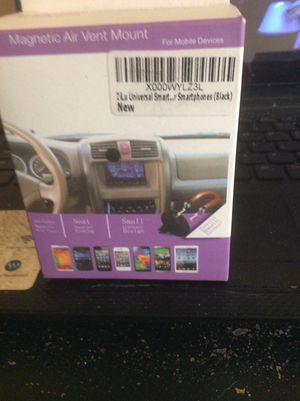 Magnetic air vent mount for mobile devices for Sale in Seattle, WA