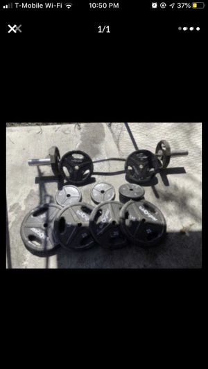 WEIGHTS. THE BAR HAS BEEN SOLD ALREADY for Sale in Compton, CA