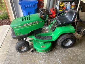 Sabre John Deere mower 14.5/38 riding lawn mower for Sale in Lexington, KY