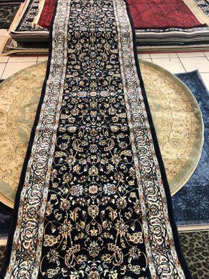 dark blue nice brand new 3 x 13 runner rug persian for Sale in Beverly Hills, CA