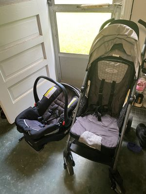 Graco infant car seat/carrier and stroller combo for Sale in Portsmouth, VA
