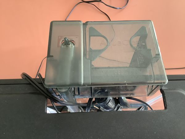 5 Gallon Fish Tank Aquarium With Good Filter Heater Lighted Cover