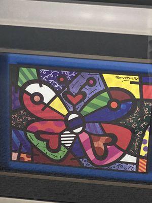 Romero Brito Butterfly Print for Sale in Miami, FL