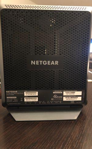 Netgear nighthawk AC1900 WiFi modem router for Sale in Montgomery, IL