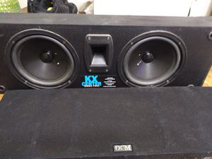 DCM KX center two speaker for Sale in Neenah, WI
