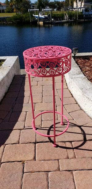 Pink plant stand for Sale in NEW PRT RCHY, FL
