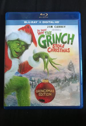 How the Grinch Stole Christmas blu ray for Sale in West Covina, CA