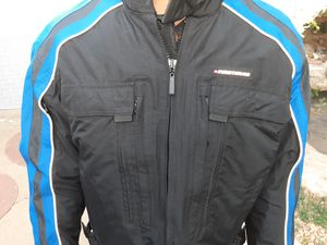 First Gear Padded Mens Motorcycle jacket Large for Sale in Denver, CO