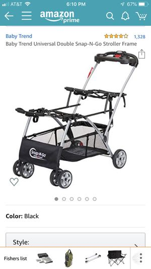 Baby Trend Snap and Go double stroller for Sale in Lutz, FL
