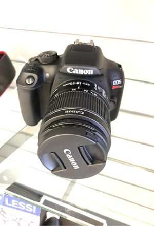 canon rebel t6 for Sale in Houston, TX