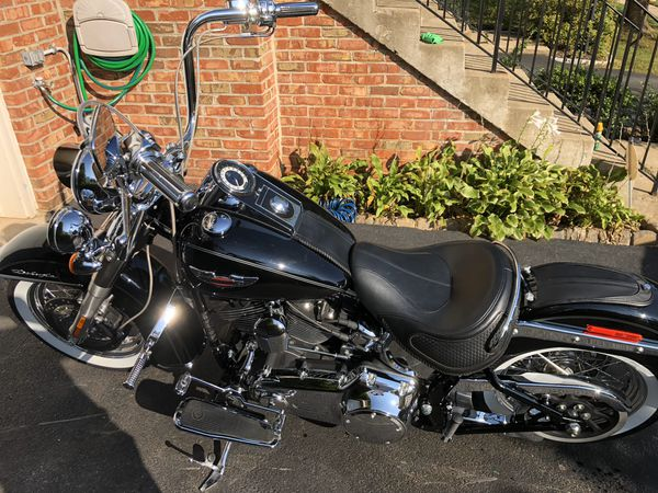 For sale HD Softail Deluxe or trade for Street Glide