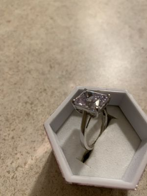 Sterling silver cz bridal ring for Sale in East Lansing, MI