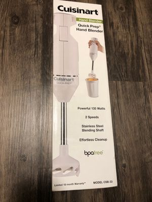 Cuisinart Quick Prep Hand Blender for Sale in Tijuana, MX