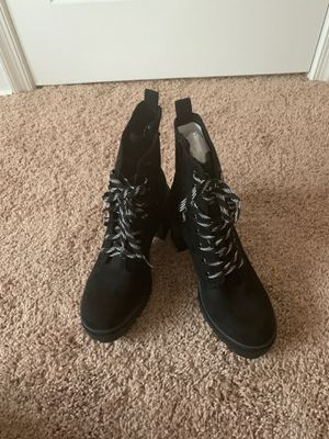 black suede boots for Sale in Oxon Hill, MD