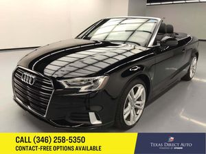 2018 Audi A3 Cabriolet for Sale in Stafford, TX