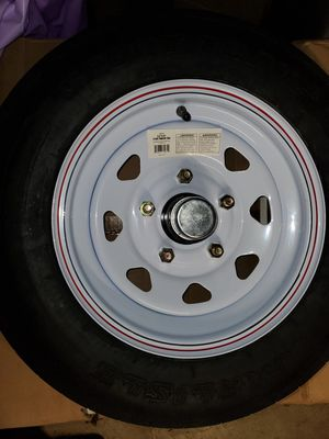 Trailer tire for Sale in Hillcrest Heights, MD