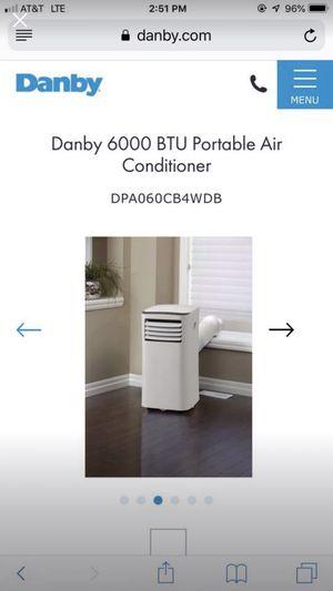 Danby 3 in 1 6000 BTU Portable Air Conditioner for Sale in Irvine, CA