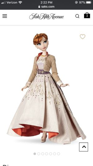 Saks Anna forzen 2 doll Disney collectors for Sale in Downey, CA