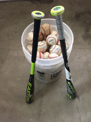 Baseball bats and balls for Sale in Orinda, CA