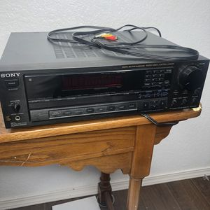 Sony FM-AM Stereo Receiver STR-AV720 for Sale in La Habra Heights, CA