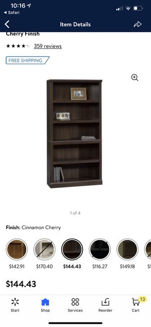 Bookshelves great condition 50 for both for Sale in Fresno, CA
