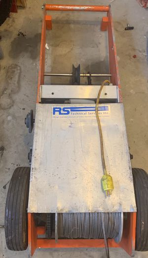 RS Technical Services Lateral Sewer Camera Winch for Sale in Lawndale, CA