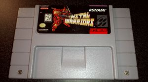 METAL WARRIORS *NEAR-MINT* SNES Cartridge *RARE* NTSC Best Snes Game Ever! for Sale in Columbus, OH