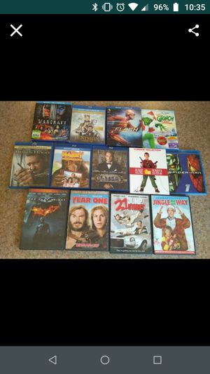 Blu Rays and DVDs for Sale in Aurora, OR
