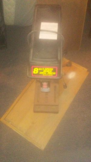 8 inch drill press $50 for Sale in East Stroudsburg, PA