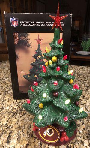 NFL LIGHTED REDSKINS CHRISTMAS TREE for Sale in Alexandria, VA