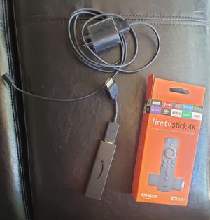 Fire stick 4k w/ Alexa remote for Sale in Pico Rivera, CA