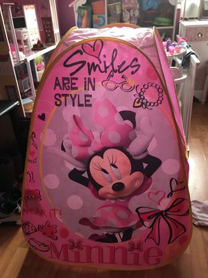 Minnie Mouse play tent for Sale in Fort Washington, MD