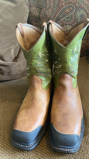 Men's work boots LIKE NEW for Sale in Dallas, TX