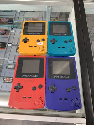 Gameboy Color $45-$50 each Gamehogs 11am-7pm for Sale in East Los Angeles, CA