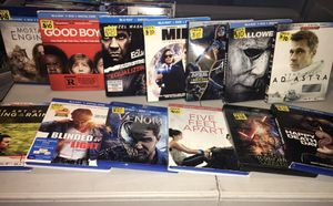 $8 $10 & $12 Blu-ray Movies for Sale in Los Angeles, CA