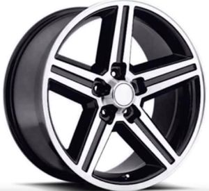 "18"" 20"" 22"" Inch IROC Rims Wheels Replicas Black Machine Finish BRAND NEW In Stock Pricing Starting @ $174 Each for Sale in La Habra Heights, CA"