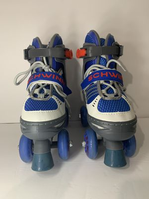 Kids Schwinn Roller Skates size 1-4 Blue/white for Sale in Cerritos, CA