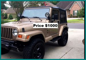 ֆ1OOO Jeep Wrangler for Sale in San Bernardino, CA
