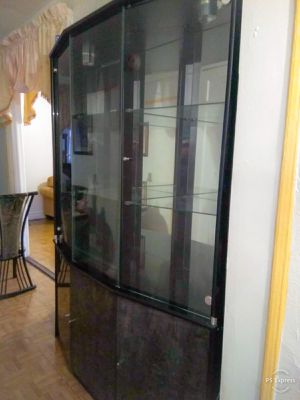 Black Showcase Cabinet for Sale in The Bronx, NY