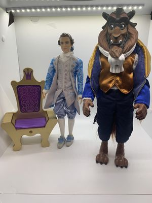 Disney prince & the Beast for Sale in Sugar Land, TX
