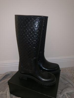 Louis Vuitton rain boots for Sale in SUNNY ISL BCH, FL