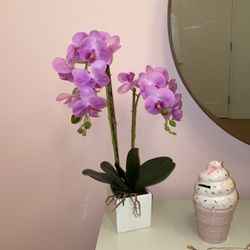"""Faux Orchid Desk Plant- 21"""" for Sale in Brooklyn,  NY"""