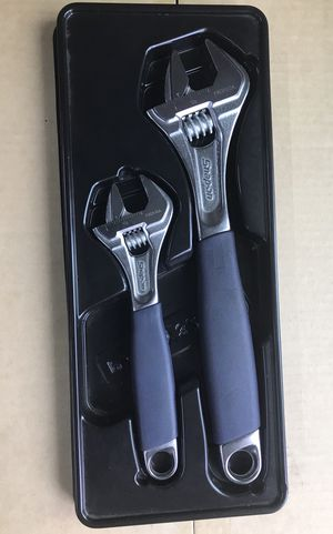 Snap On Tools adjustable crescent style wrench set for Sale in Lacey, WA