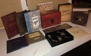 🧙♂️ HARRY POTTER CHEST BOX WITH DVD's for Sale in Winder, GA