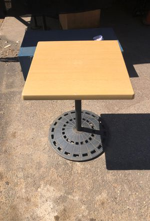 Industrial outdoor indoor restaurant tables for Sale in El Cajon, CA