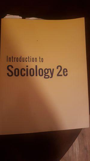 Sociology book 2e for Sale in Bradenton, FL