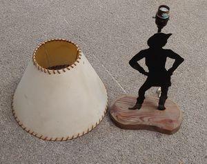 Farmhouse Cowboy Lamp for Sale in Burlington, NC