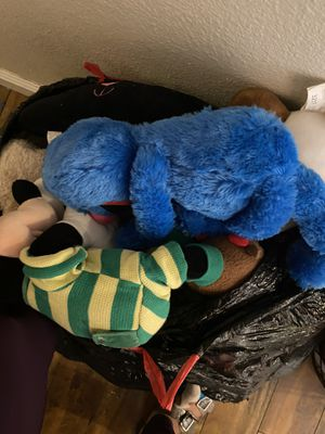 Free bag of stuffed animals for Sale in Riverside, CA