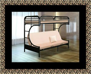 Twin futon bunked frame for Sale in Bowie, MD