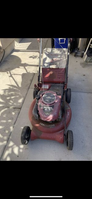 Craftsman lawn mower very strong works perfect $99 for Sale in Norwalk, CA